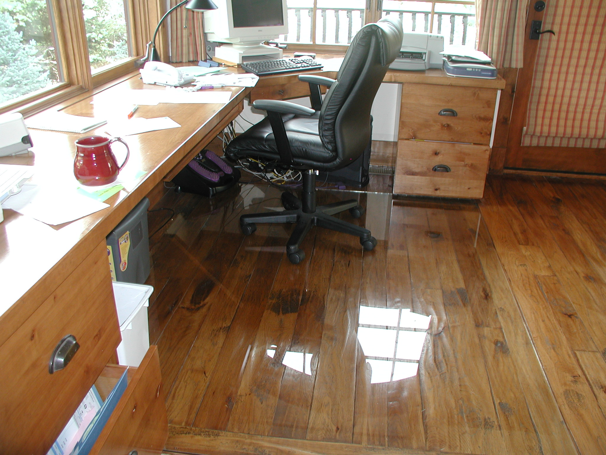 Transparent Floor Mats for Wooden floors