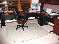 Chair Mats by Glassmat